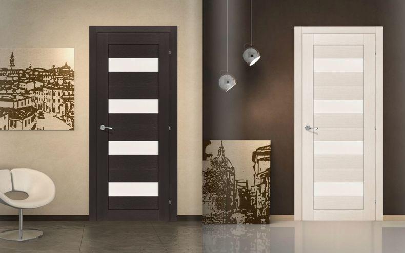 межкомнатные двери со стеклом 5 моделей которые преобразят